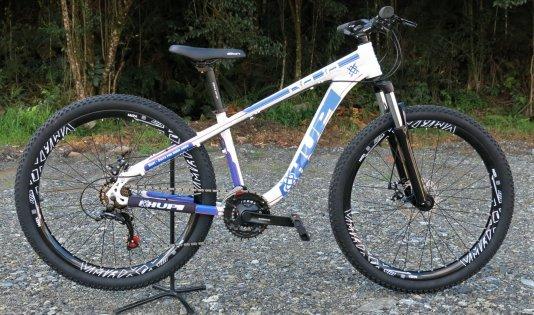 "Bicicleta HUPI Naja 27.5"" Mecânica 2019 Branca"