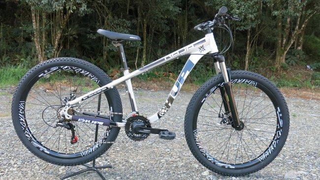 "Bicicleta HUPI Naja 27.5"" Mecânica 2019 RAW"