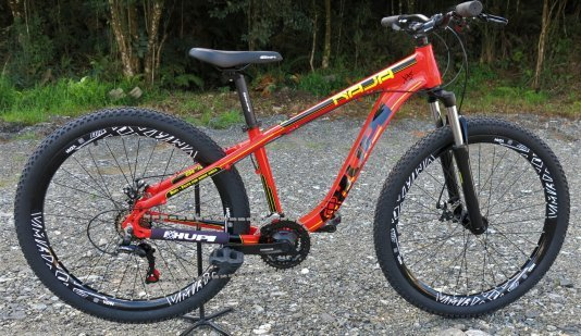 "Bicicleta HUPI Naja 27.5"" Mecânica 2019 Vermelha"