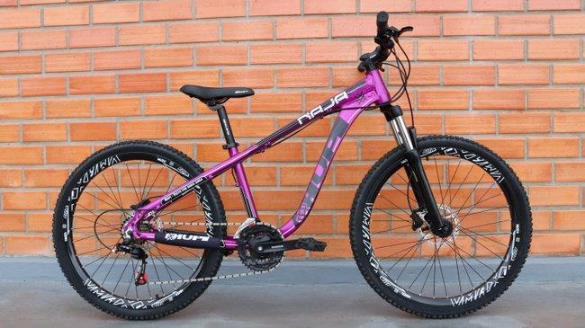 Bicicleta HUPI Naja Hidráulica 2019 Roxo