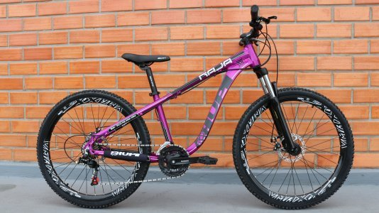 Bicicleta HUPI Naja Mecânica 2019 Roxo