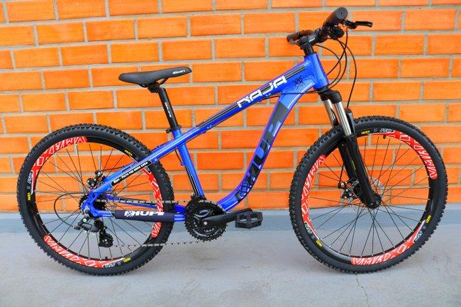 """Bicicleta HUPI Naja One 27.5"""" 2019 Azul"""