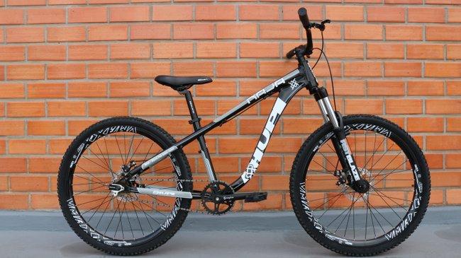Bicicleta HUPI Naja Single Speed Mecânica Preta