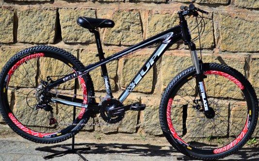 Bicicleta HUPI Whistler 2019 Mecânica Preta