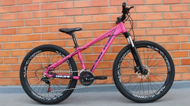 """Bicicleta HUPI Whistler 27.5"""" Hidráulica V5 Pink"""