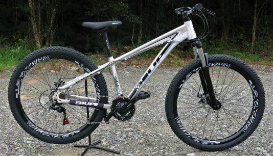 "Bicicleta HUPI Whistler 27.5"" Mecânica V5 RAW"