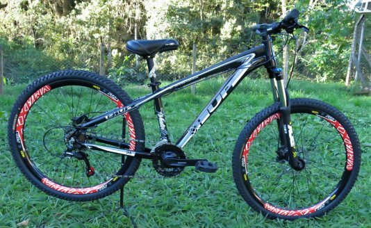 Bicicleta HUPI Whistler Hidráulica V5 Preta