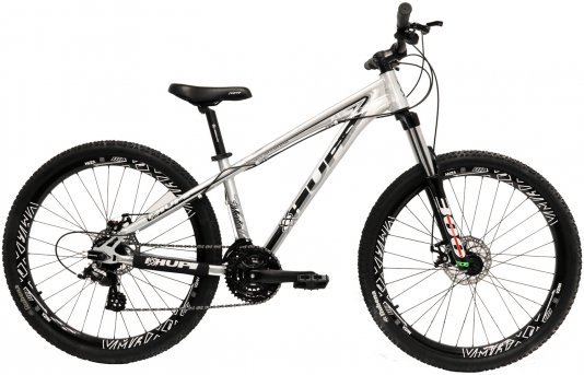 "Bicicleta HUPI Whistler One 26"" V5 Raw Polido"
