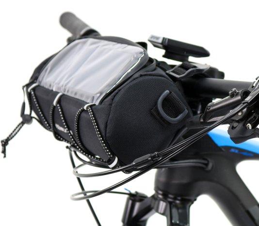 Bolsa de Guidão para Bike HUPI Quiriri com Porta Celular