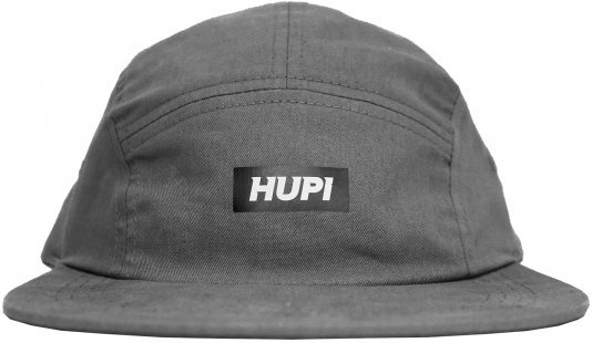 Bone HUPI Sunday 5 Panel Cinza