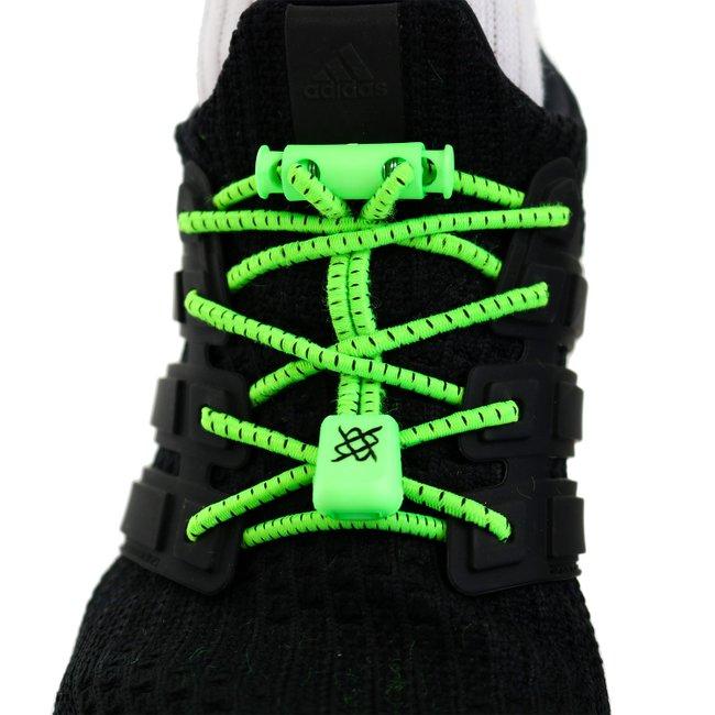 Cadarco Elastico Hupi Laces Verde Neon Risca Preta