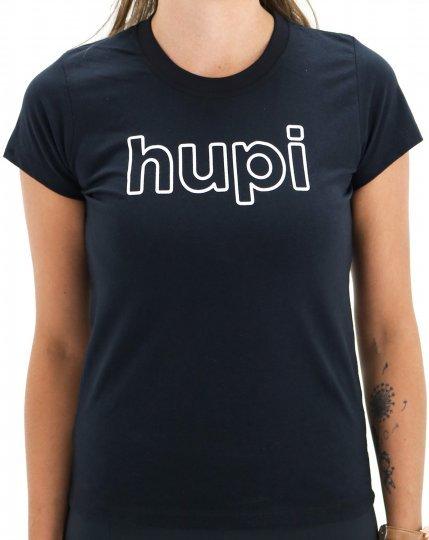 Camiseta Casual HUPI Colorado Babylook Preto