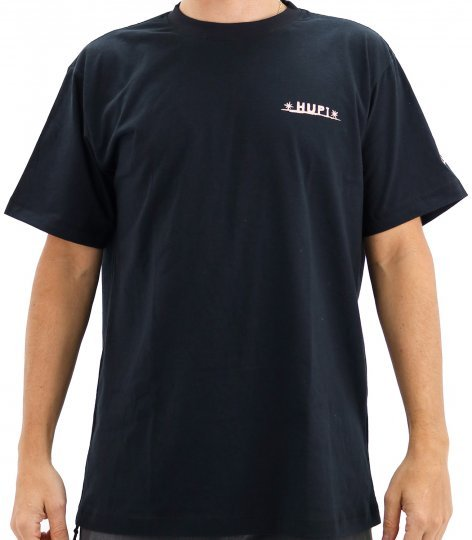 Camiseta Casual HUPI Goals Preto