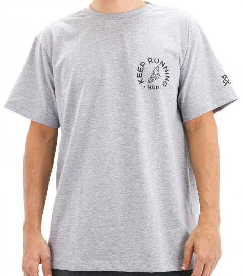 Camiseta Casual HUPI Keep Running Mescla
