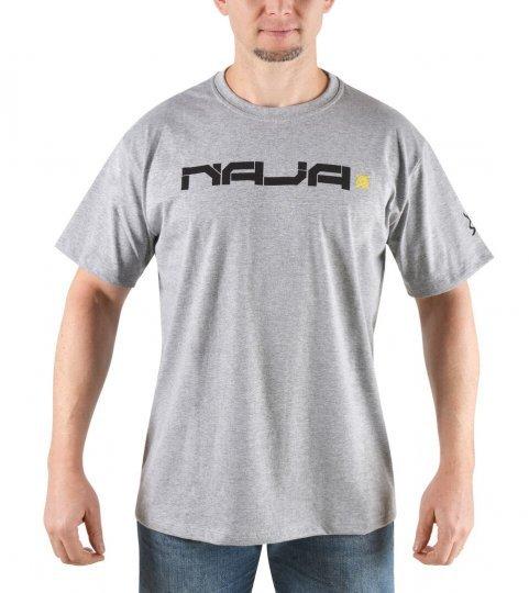 Camiseta Casual HUPI Naja Cinza