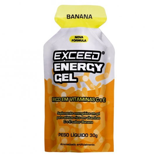 Exceed Energy Gel Sabor Banana 30g