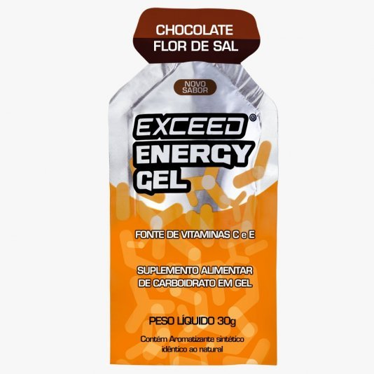 Exceed Energy Gel Sabor Chocolate Flor de Sal 30G