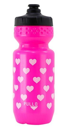 Garrafa Pullo My Heart Rosa 600ml