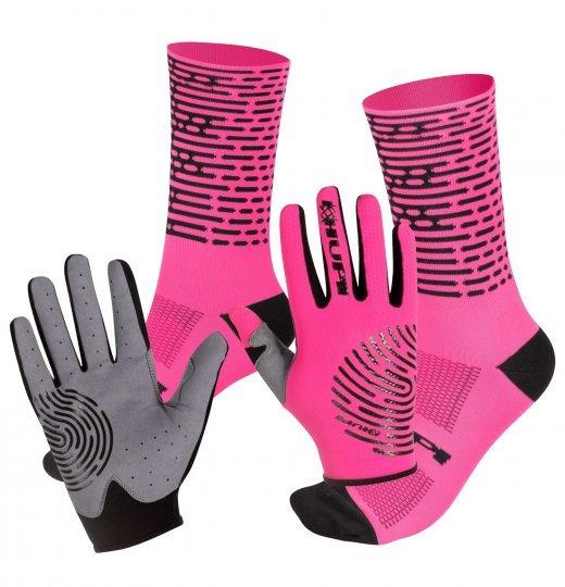 Kit Pedal HUPI Biometria Rosa