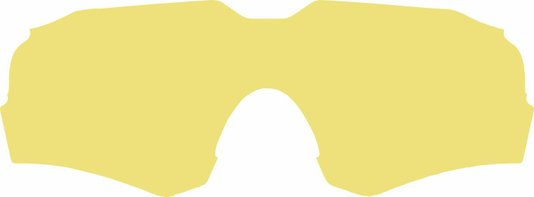 Lente Extra - Óculos de Sol Fuego Amarelo