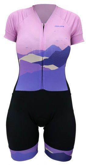 Macaquinho Ciclismo Feminino HUPI The Mountains