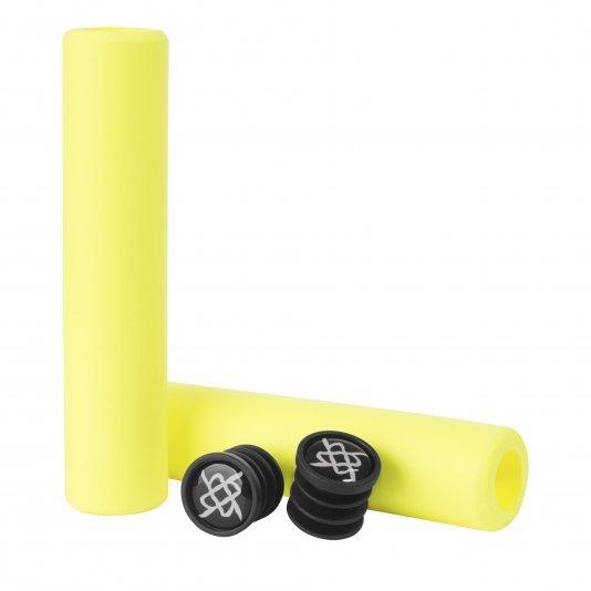 Manopla Silicone HUPI PRO SI Amarelo Neon