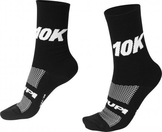 Meia HUPI 10K Preto - LT para pés menores 34-38