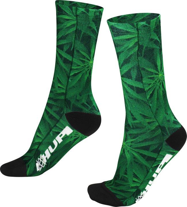 Meia HUPI Sublimada Marijuana