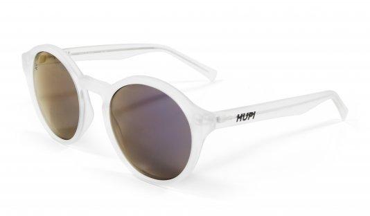 Óculos de SolHUPI KONA Cristal Fosco - Lente RoxoEspelhado
