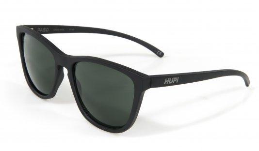 Óculos de Sol HUPI Paso Preto Fosco Lente Verde