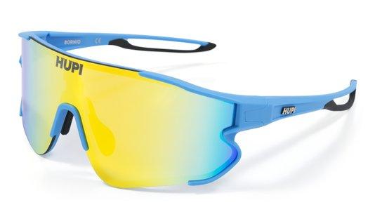 Óculos de Sol HUPI Bornio Azul/Preto - Clip Para Lentes De Grau