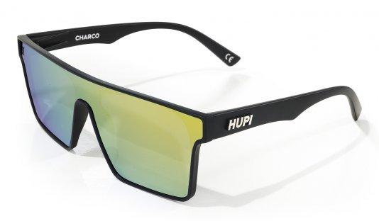 Óculos de Sol HUPI Charco Preto - Lente Amarelo Espelhado