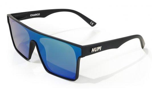 Óculos de Sol HUPI Charco Preto - Lente Azul Espelhado