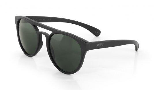 Óculos de Sol HUPI Furka Preto - Lente Verde Escuro - para rostos GRANDES