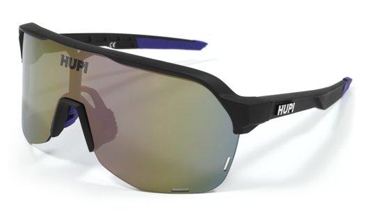Óculos de Sol Hupi Huez Preto/Roxo - Lente Roxo Espelhado