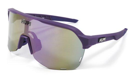 Óculos de Sol  HUPI Huez Roxo - Lente Roxo Espelhado