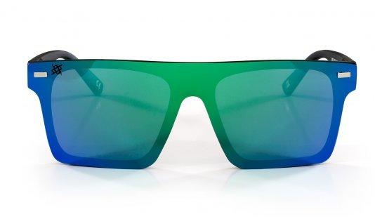 Óculos de Sol Navajio Preto- Lente Verde Espelhado