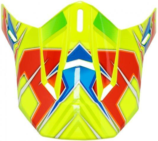Pala Sobressalente para Capacete HUPI DH-3 Amarelo Neon