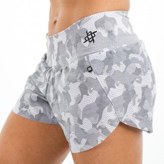 Shorts HUPI Ph Camo Cinza