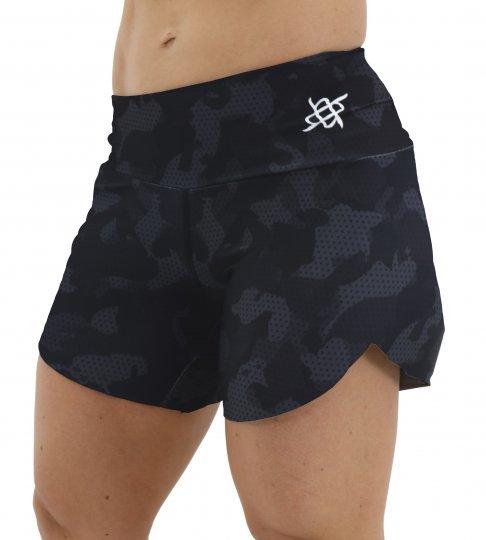Shorts HUPI Ph Camo Preto