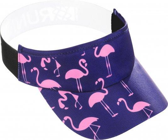 Viseira para Corrida HUPI Flamingo