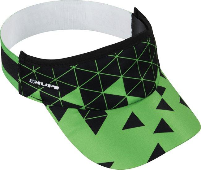Viseira para Corrida HUPI Tetris Green