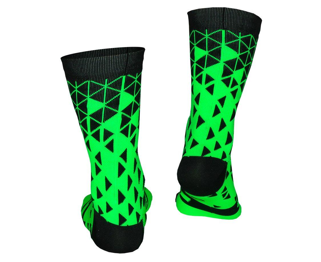 Meia Hupi Tetris Green