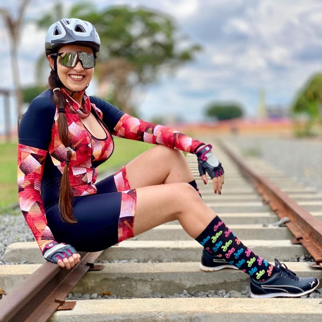 Meia Longa HUPI Bike Colors