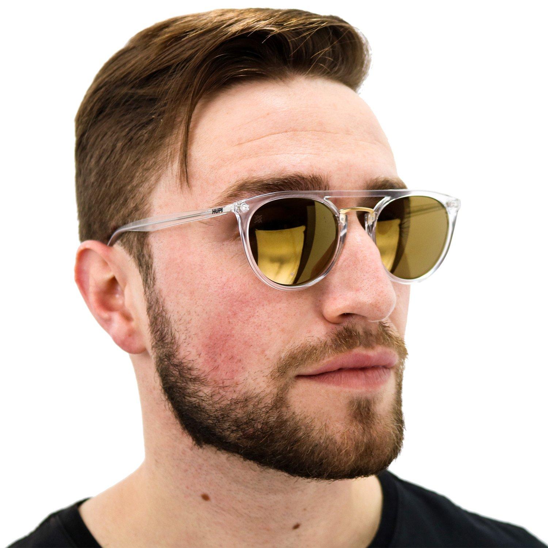 Óculos de Sol HUPI Ibiza Cristal – Lente Dourada