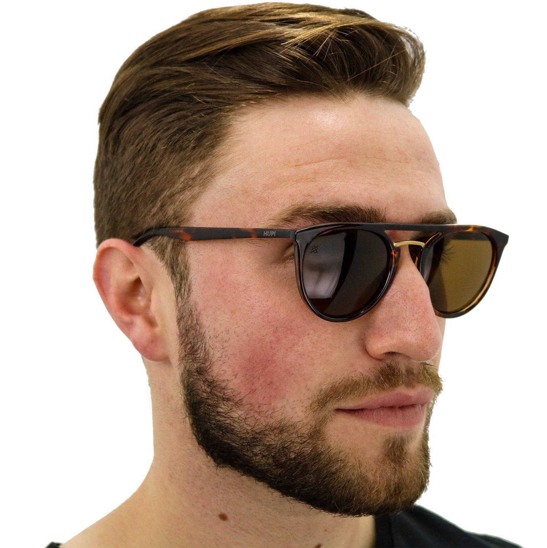 Óculos de Sol HUPI Ibiza Tartaruga - Lente Marrom