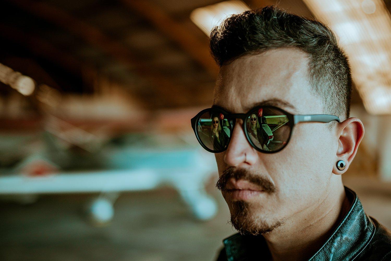 Óculos de Sol HUPI Kona Tartaruga Lente Marrom