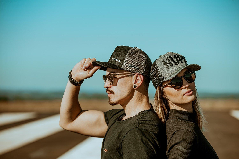 Óculos de Sol HUPI Paso Tartaruga Lente Dourada