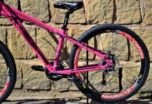 Bicicleta HUPI Whistler 2019 Mecânica Pink