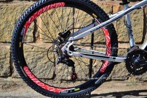 Bicicleta HUPI Whistler Hidráulica 2019 Raw Polido